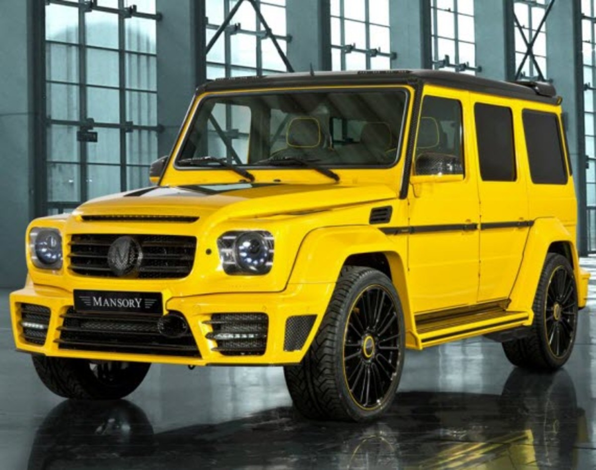 Mercedes-Benz G63/G65 AMG Gronos | By MANSORY