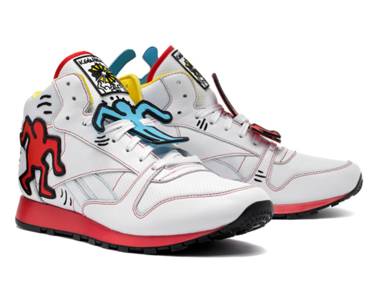 check out 903ab 92629 ... where to buy keith haring x reebok classic spring 2013 collection  delivery 2 a2e41 2babe
