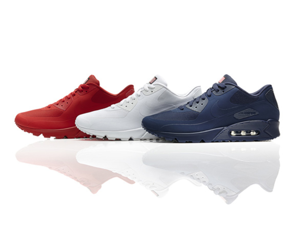 Nike Air Max 90 Hyp Red White And Blue Pack Freshness Mag