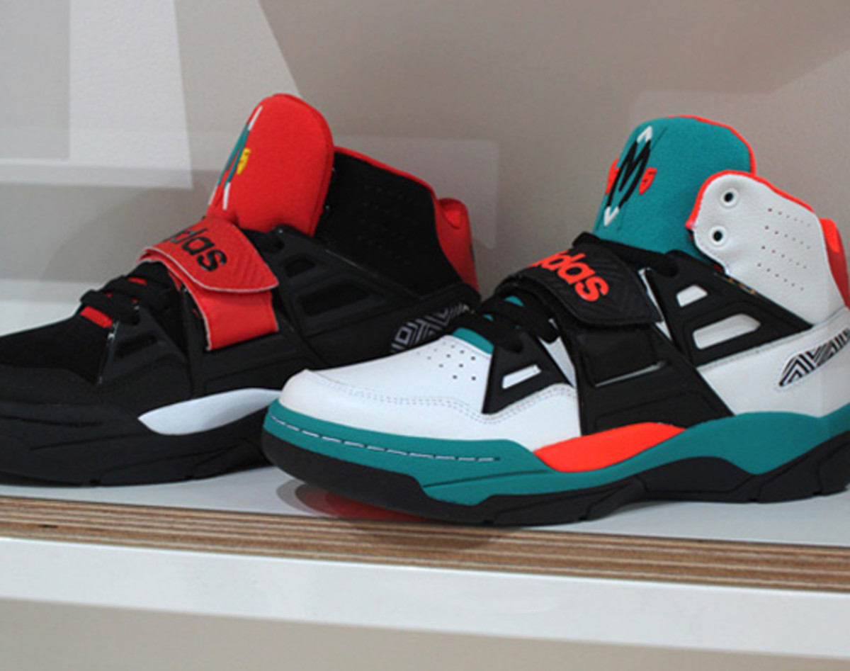 low cost 9beae 9e5a8 A reprise on the classic Mutombo model is in the making for the adidas  Originals line, as shown in these first-look images. Dubbed the