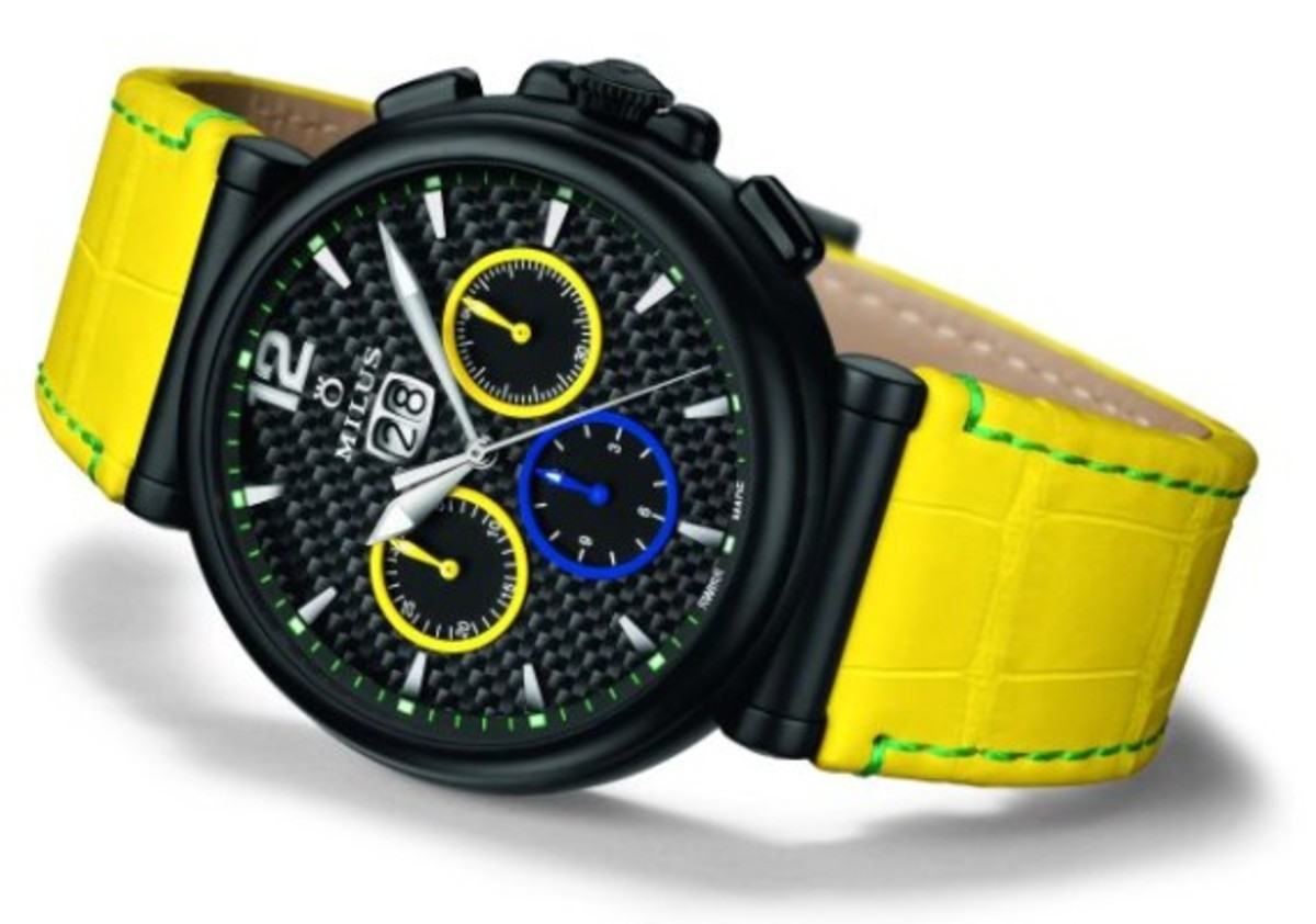 Milus Limited-Edition  Watches Zetios Chronograph For
