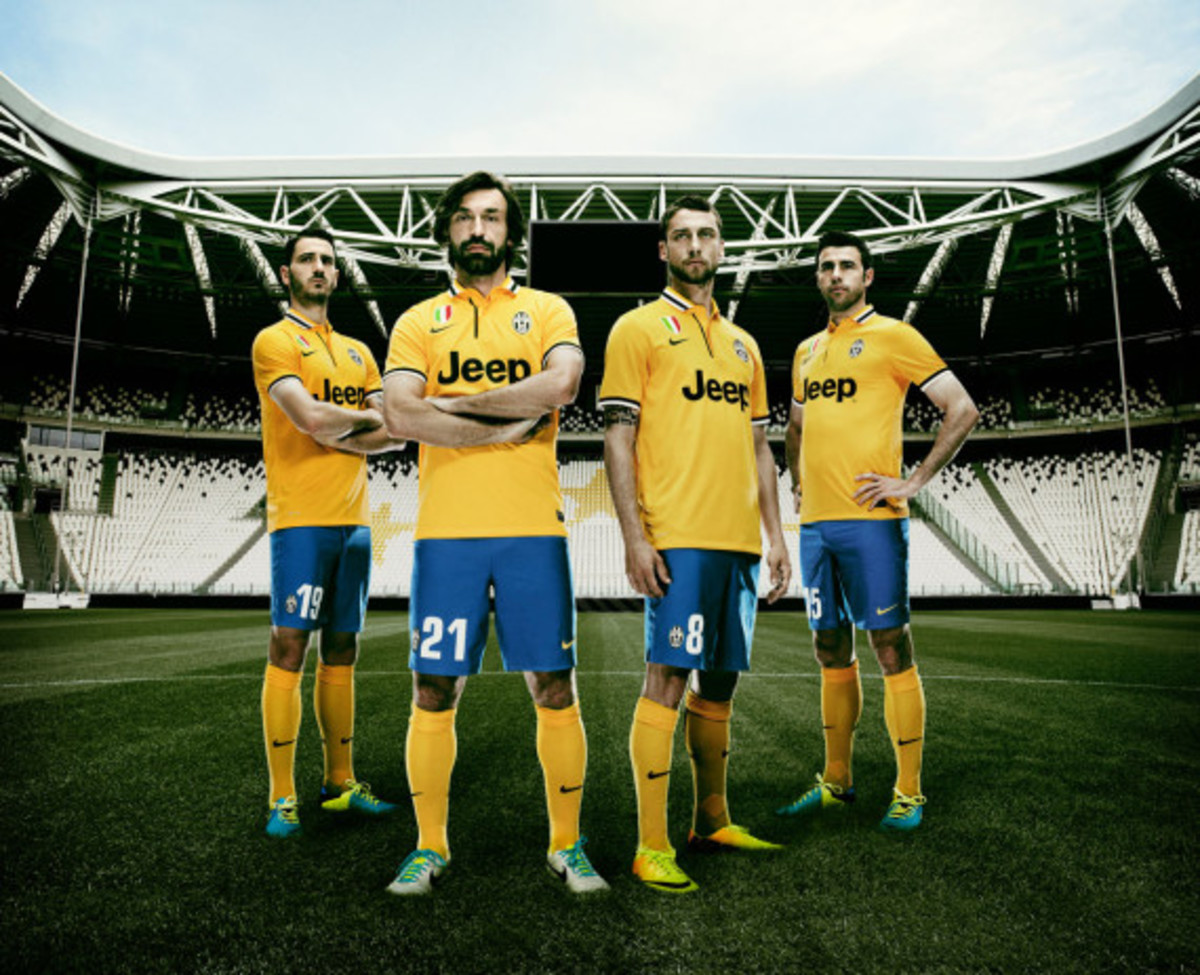 Nike Soccer Italian Champions Juventus Unveils Yellow Jersey For Away Kit Freshness Mag