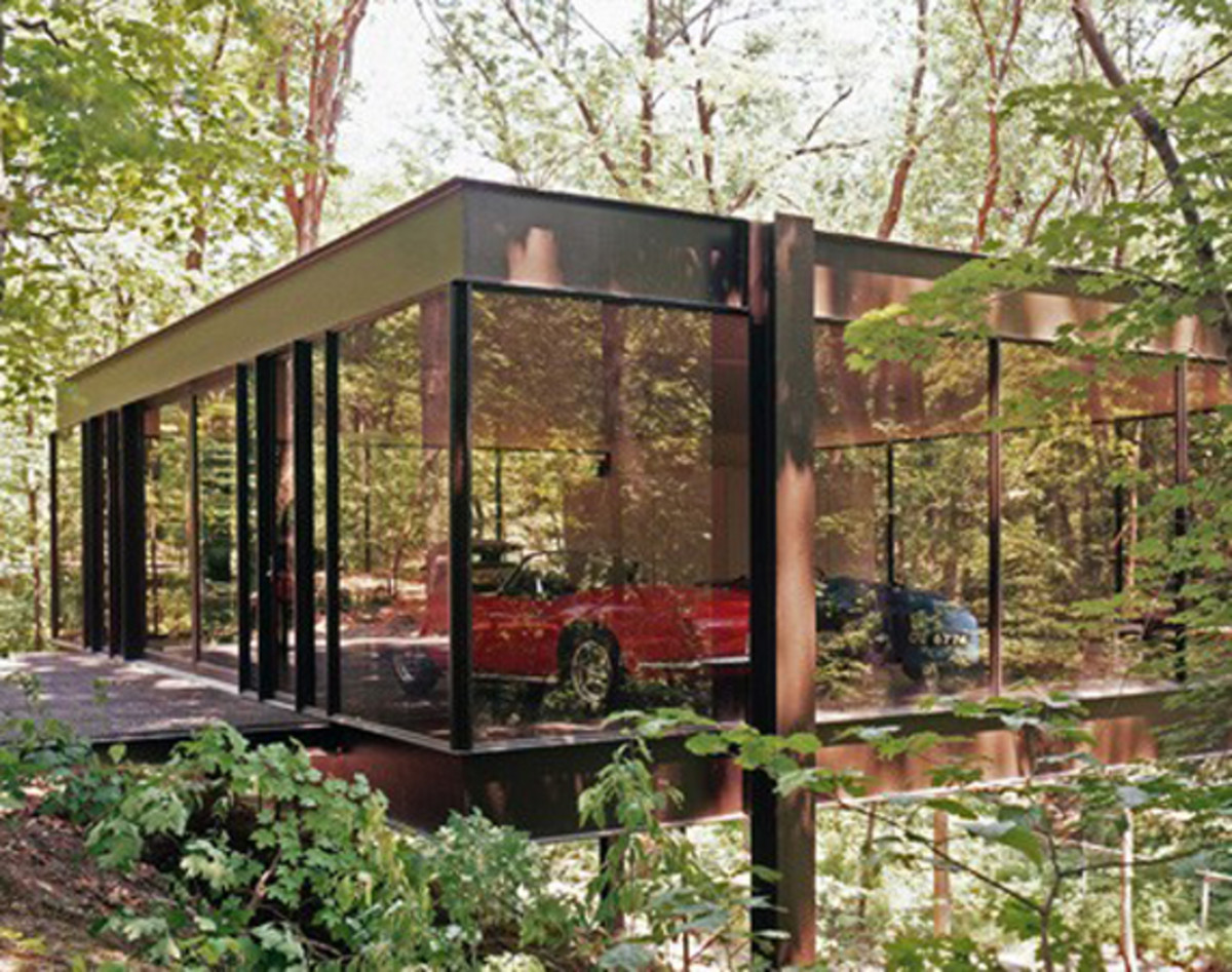 Glass House Featured In Quot Ferris Bueller S Day Off Quot On