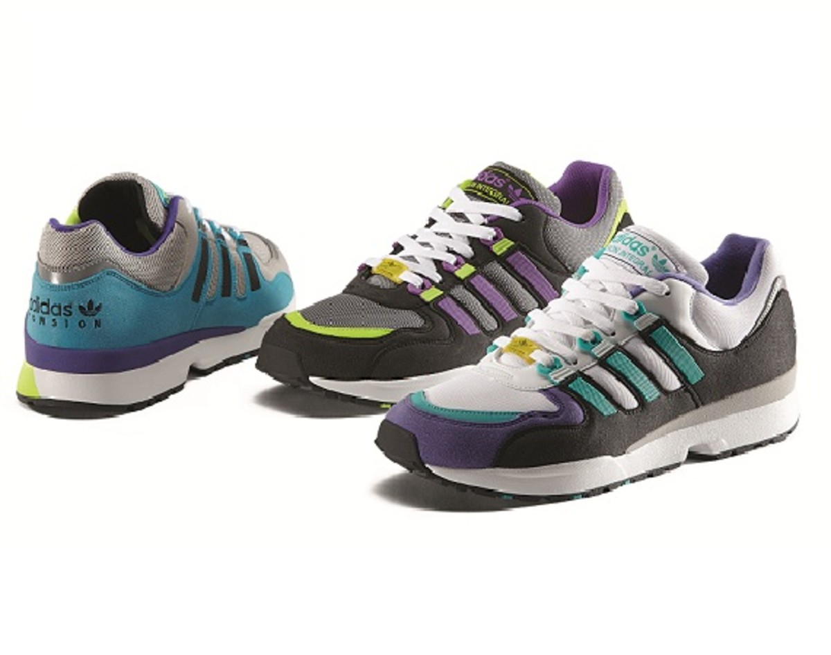 sports shoes d859c bb634 For FallWinter 2013, adidas Originals is rolling out a new batch of  colorways of the Torsion runner. The classic 90s sneaker is dropping  under the ...