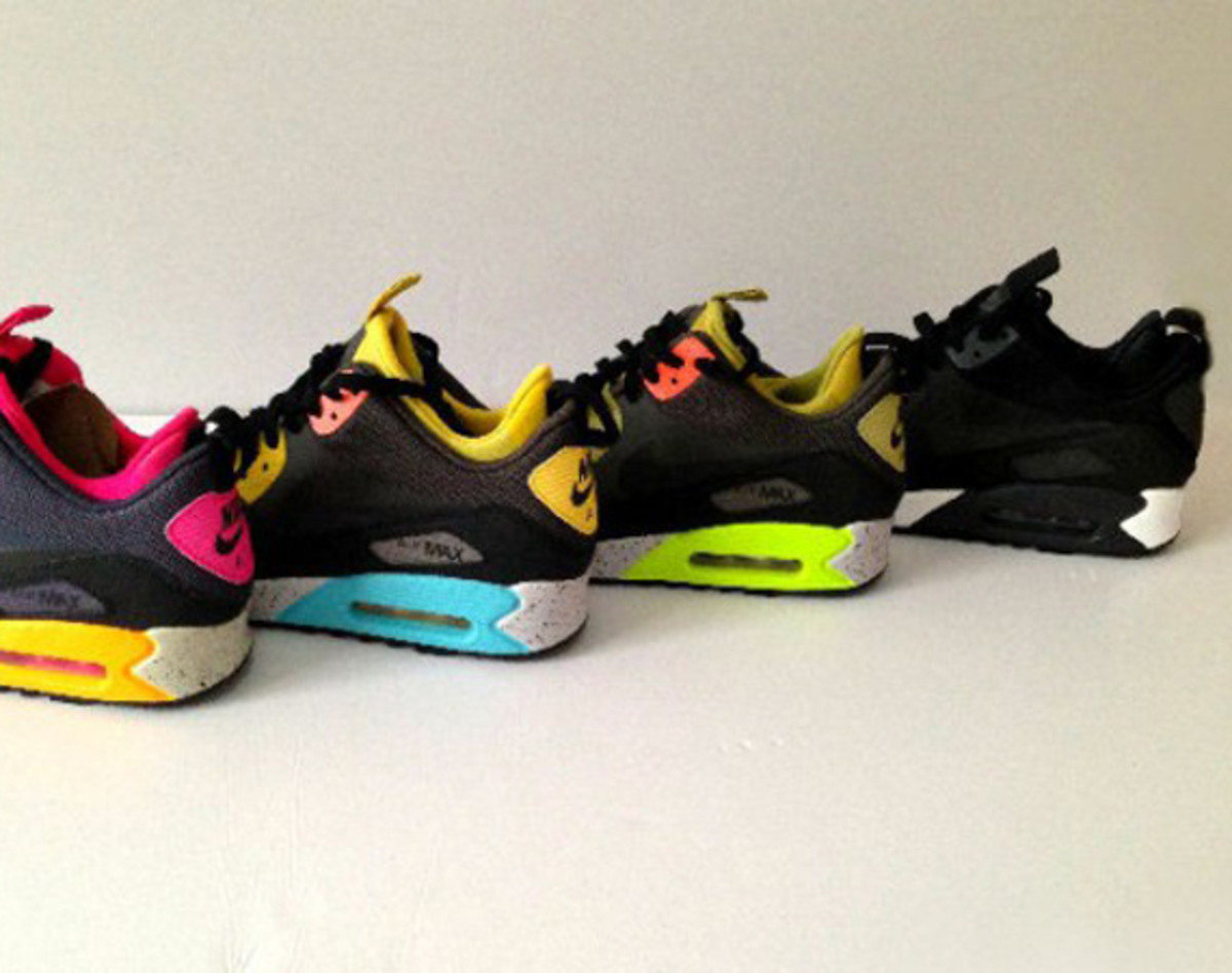 half off f780f 340fd Nike Air Max 90 Mid No-Sew – Upcoming Releases - Freshness Mag