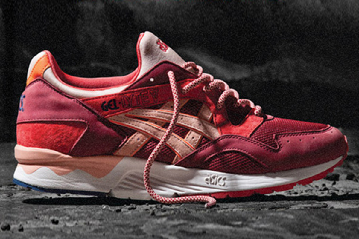 1827e90b1c96 Gracing the front cover of Sneaker Freaker s latest issue is the new  collaboration between Ronnie Fieg and ASICS. Based on the ASICS Gel Lyte V