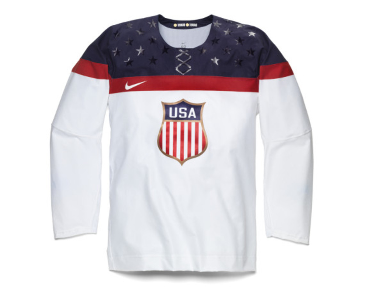 Nike - 2014 USA Olympic Hockey Team Jersey - Freshness Mag 01622bba372