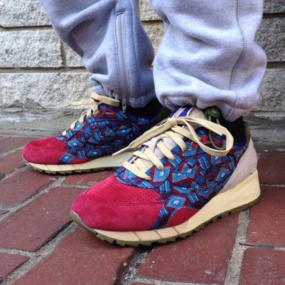 "BODEGA x Saucony Shadow 6000 - ""African Print"" Pack"