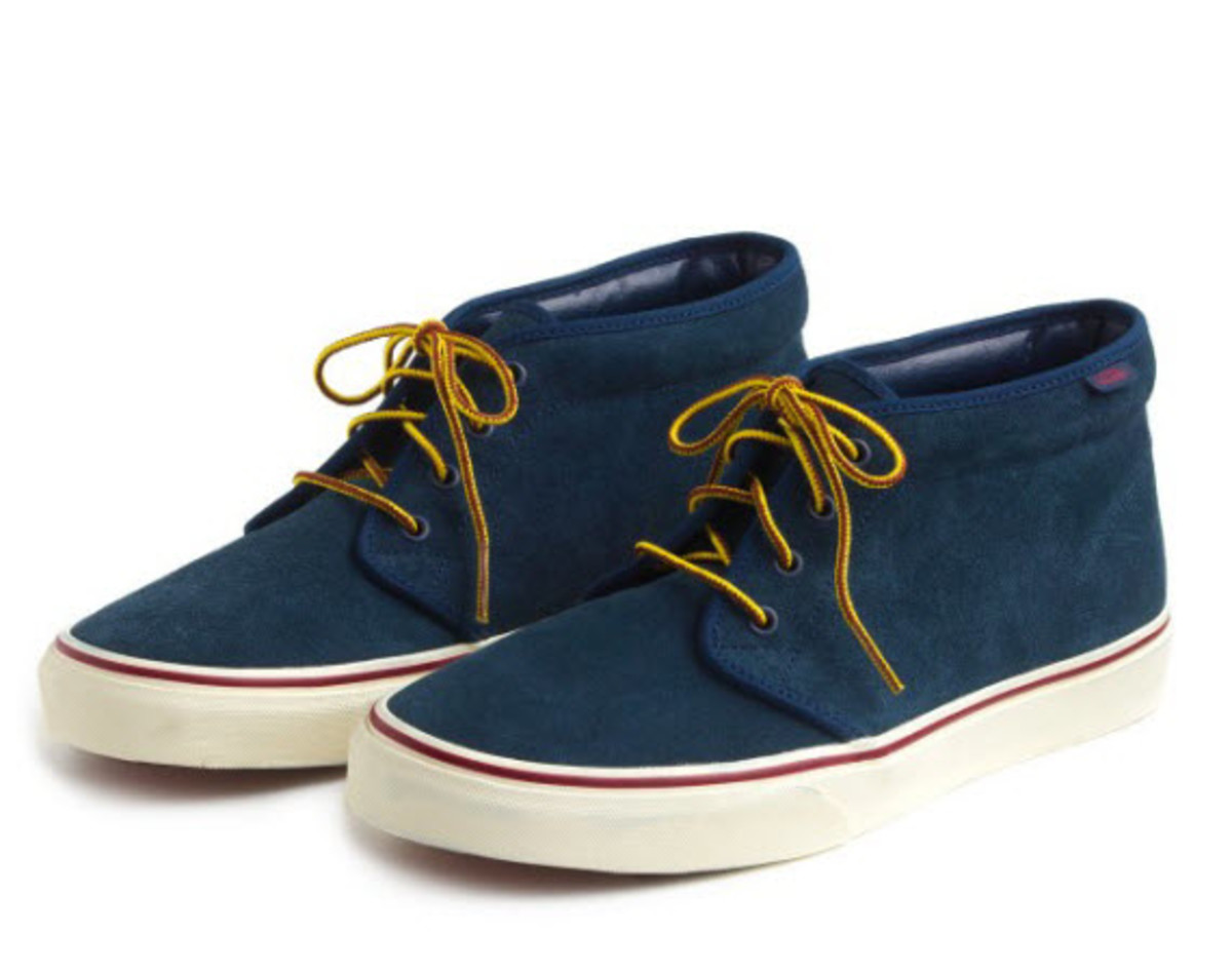 j crew x vans suede chukka boots freshness mag