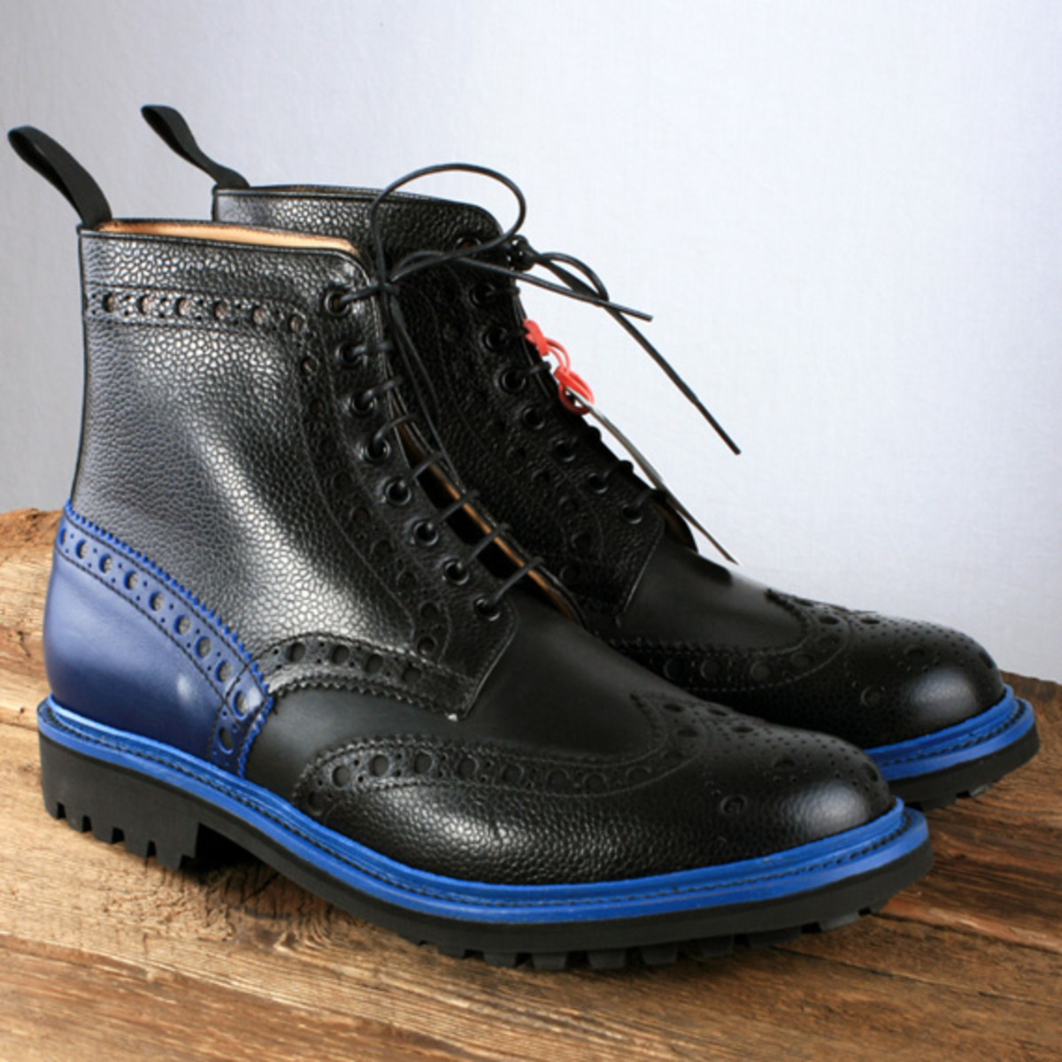 Togs Clogs X Grenson Fred Brogue Boots With Commando