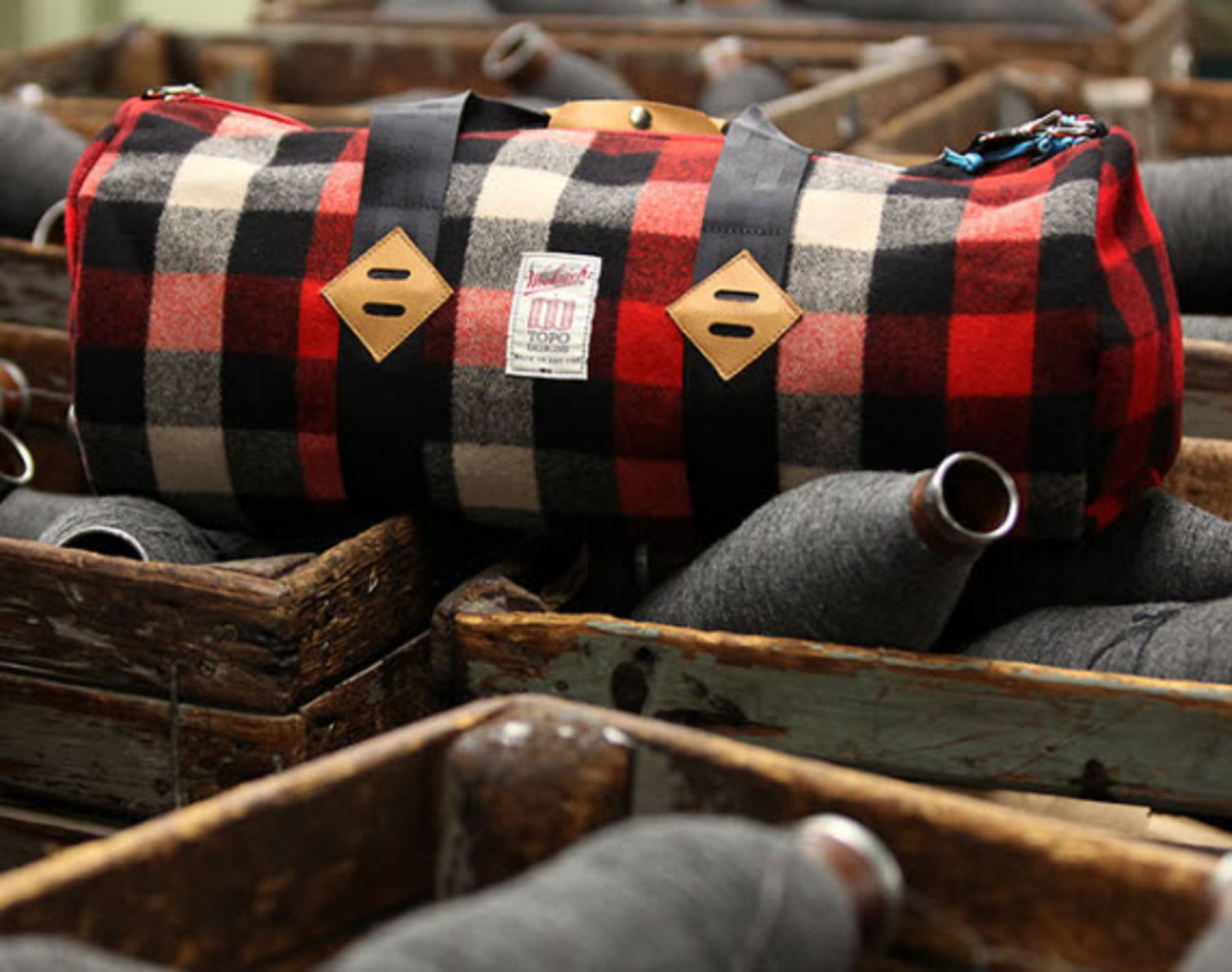 Woolrich x Topo Designs Bag Collection - Freshness Mag