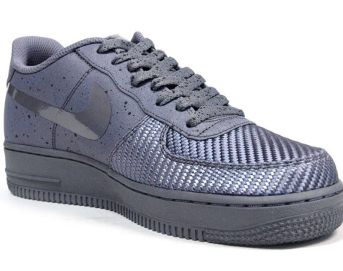 nike air max 1 air force 1 low sp new grey 1 pack freshness mag. Black Bedroom Furniture Sets. Home Design Ideas
