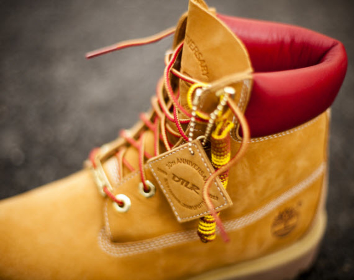 9f17ba861e The fact that this is a special edition marking the 30th Anniversary of  Downtown Locker Room (DTLR) aside, the Timberland 6-Inch Boot will still be  your ...