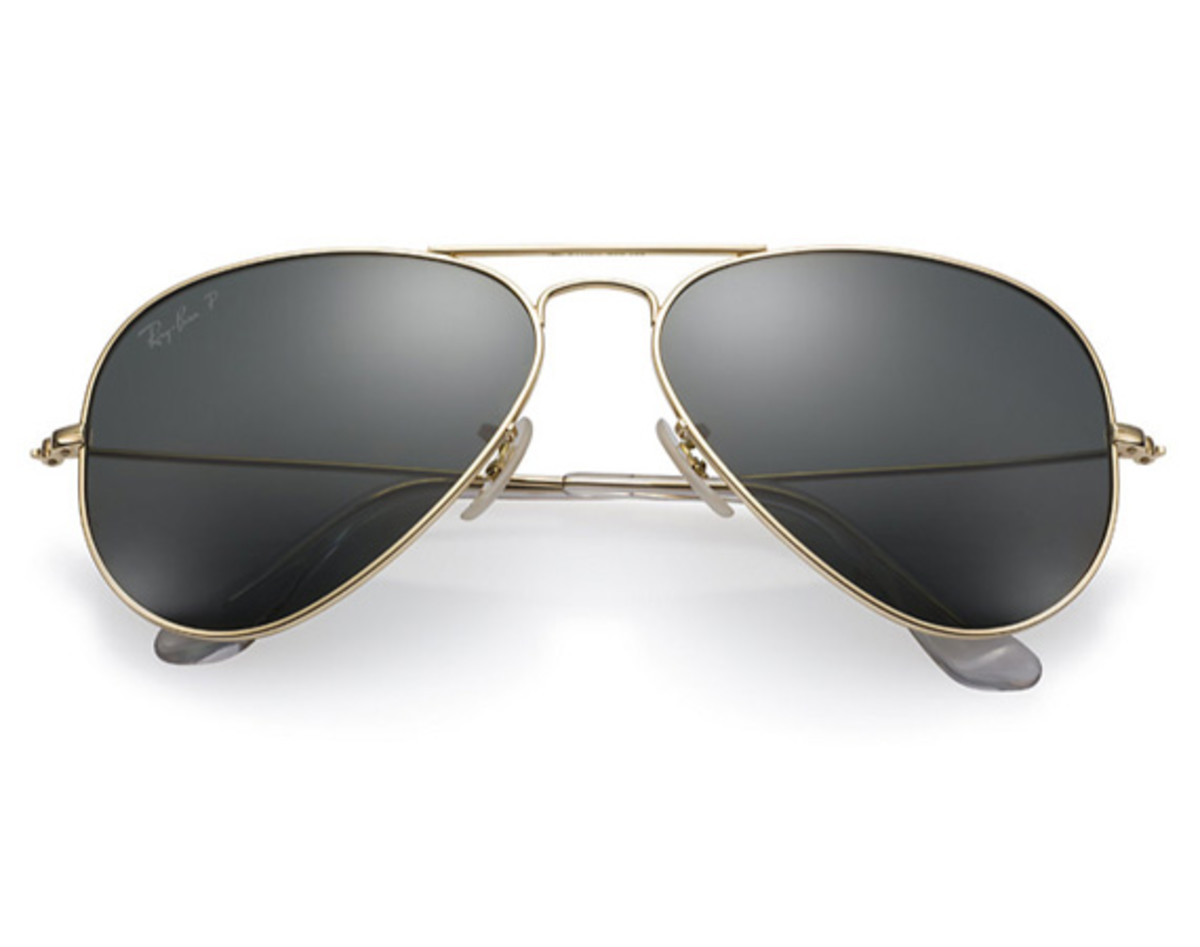 Ray-Ban - Aviator Solid Gold Sunglasses
