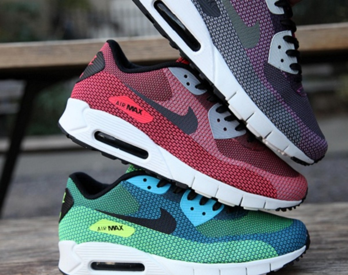 best sneakers 78e58 4e751 The latest and greatest reinterpretation of the classic Air Max 90  completed with a technical engineered mesh iconic upper has just hit the  stores.
