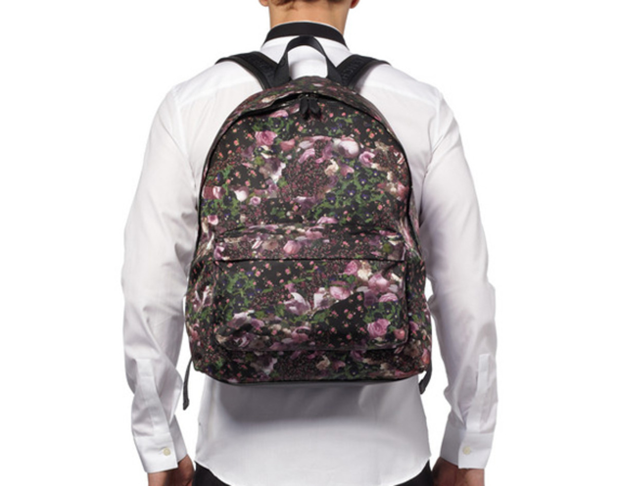 305b4bf57e4 GIVENCHY Floral-Print Backpack - Freshness Mag