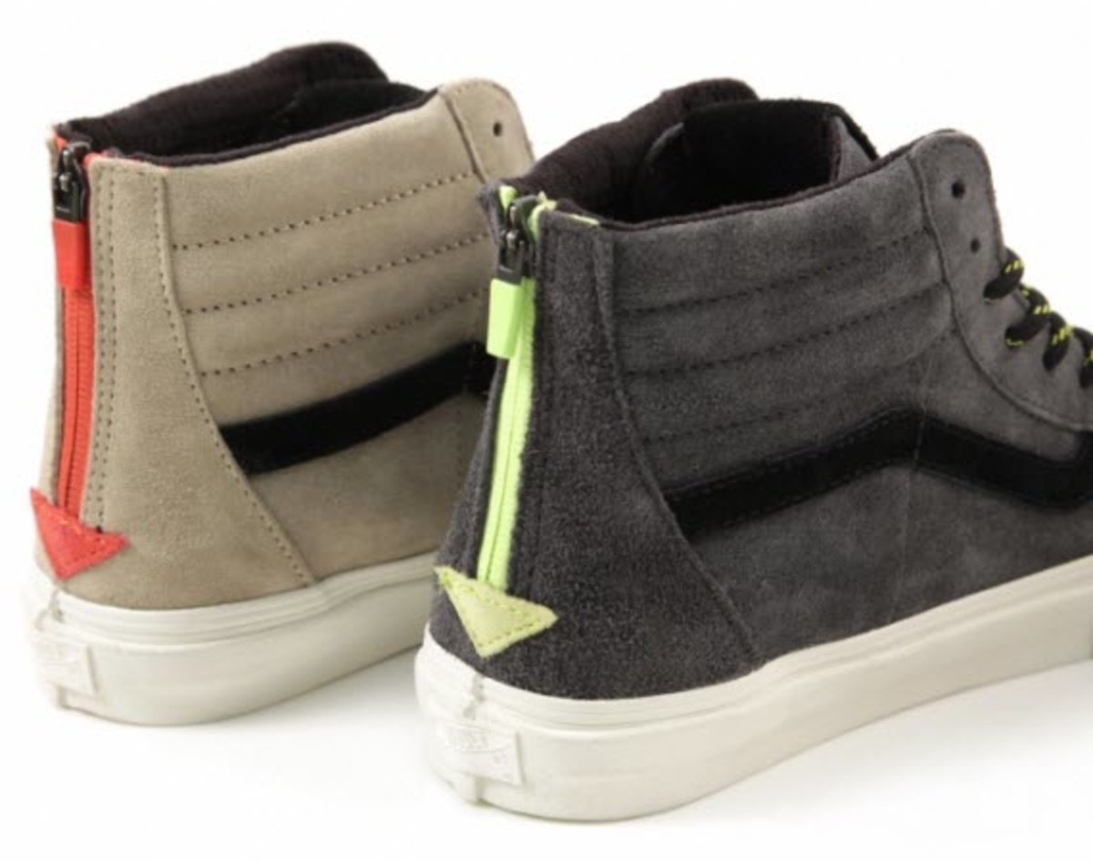 The clean flagship model of the Vans Vault line has to be the Sk8-Hi Zip.  With a classic silhouette 6382fcef12