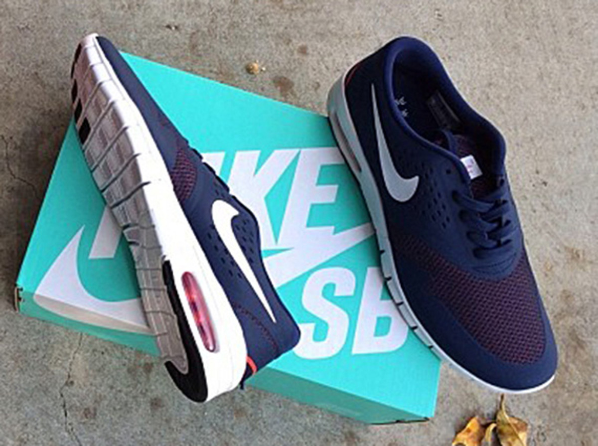 With much of the focus already on the upcoming Nike SB Stefan Janoski Max,  fellow Nike SB team member Eric Koston decided this afternoon to show off  his ...