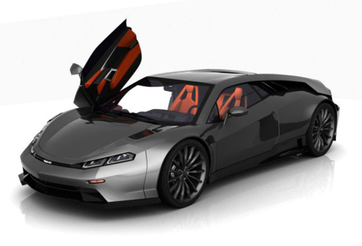 Dmc Concept Delorean Dmc 12 Reimagined Freshness Mag