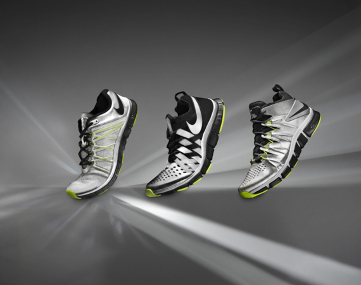 nike free trainer 3.0 5.0 and 7.0 – super bowl edition
