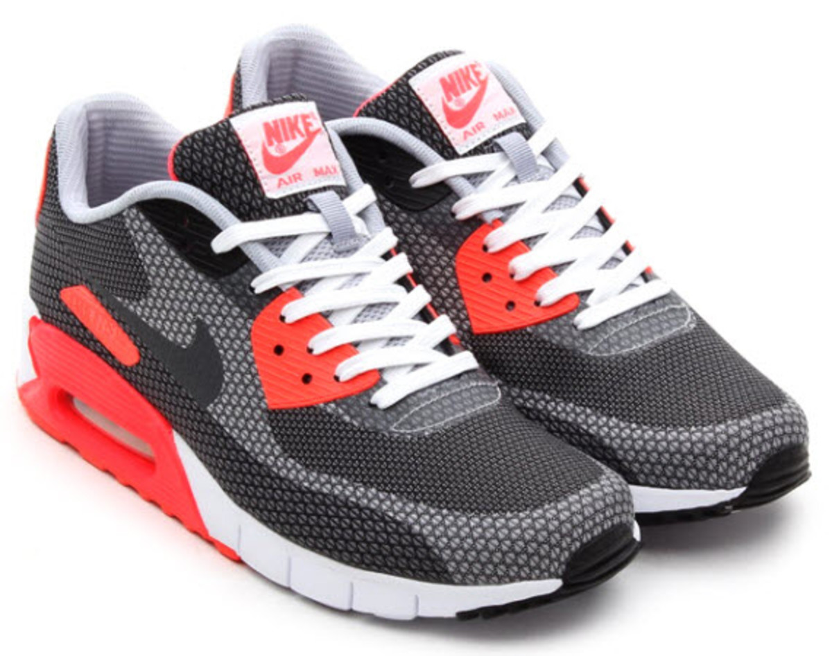 nike air max 90 premium jacquard infrared freshness mag. Black Bedroom Furniture Sets. Home Design Ideas