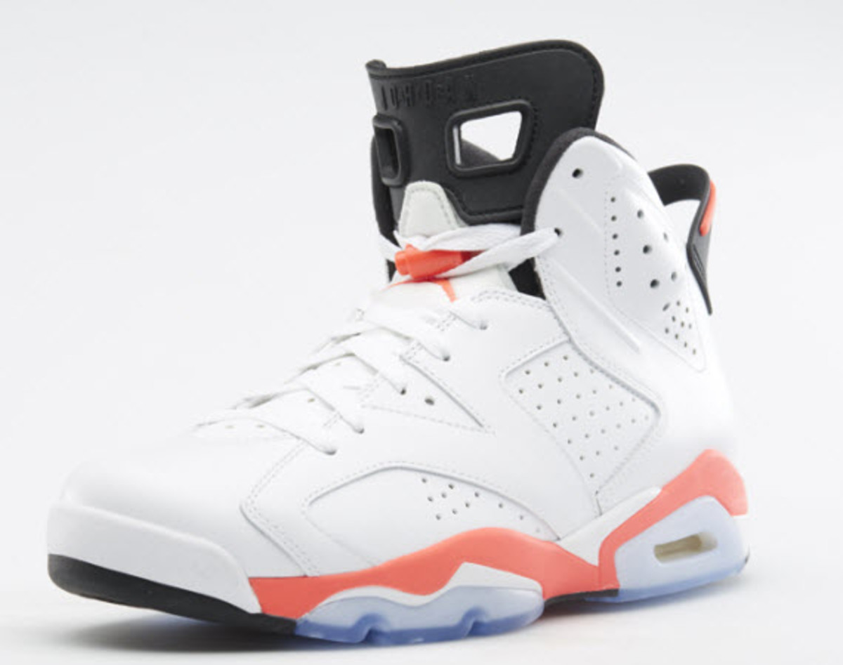 011149d97aa87 ... but that s probably because all of the sneakerheads are eagerly  awaiting the release of the coveted Air Jordan 6 Retro in its classic White  Infrared ...