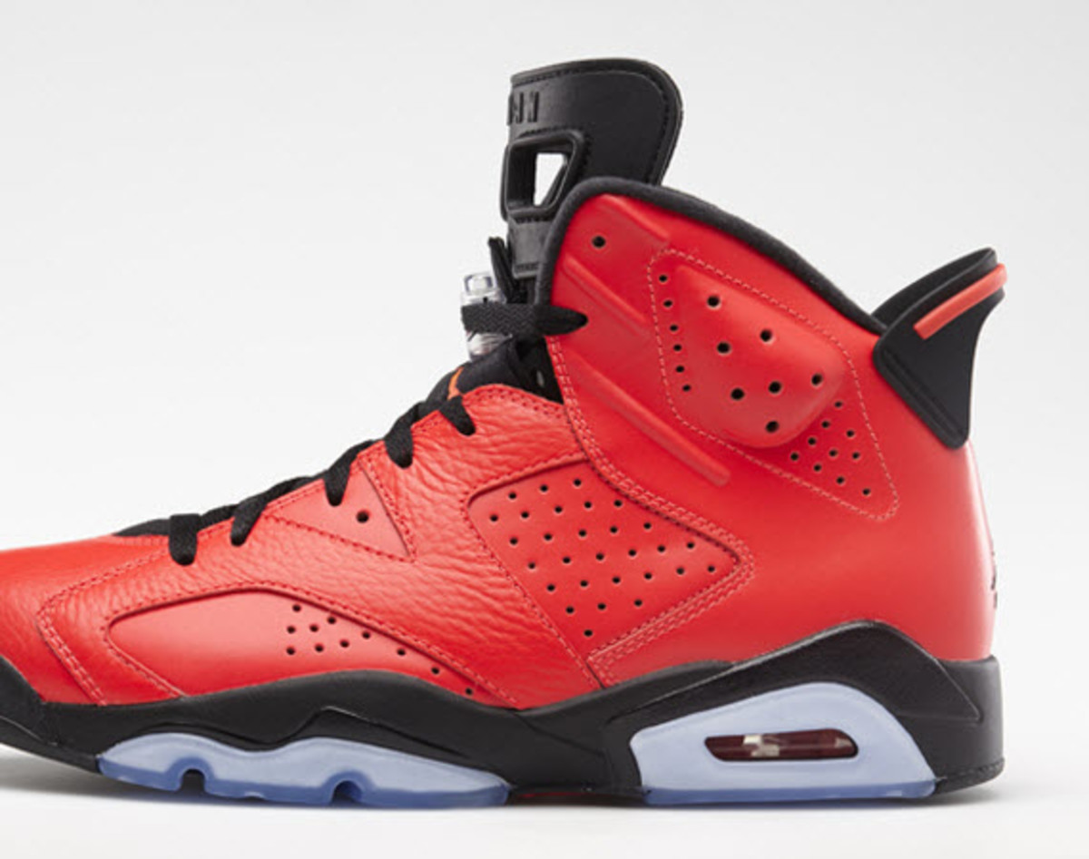 8a10e24e850966 ... Black-Infrared 23 The Jordan Brand must have been feeling a little  devilish in this season of affection