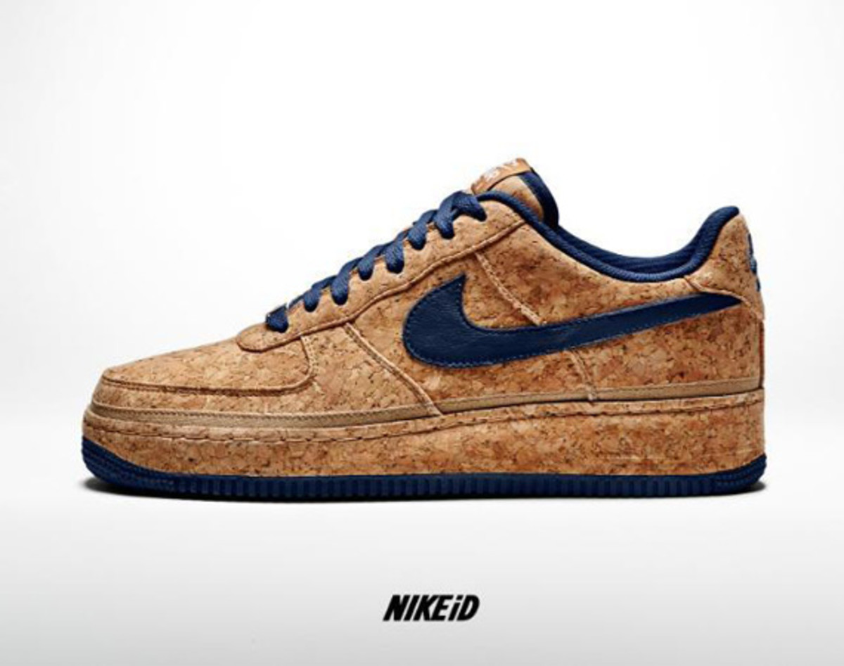 Nike id air force Blue Black White Thought To Be April Fools Prank At First Nike Authenticated This New Cork Nikeid Design Option Via Twitter This Morning In Either Nike Air Force Low Freshness Mag Nikeid Air Force Id Cork Options Freshness Mag