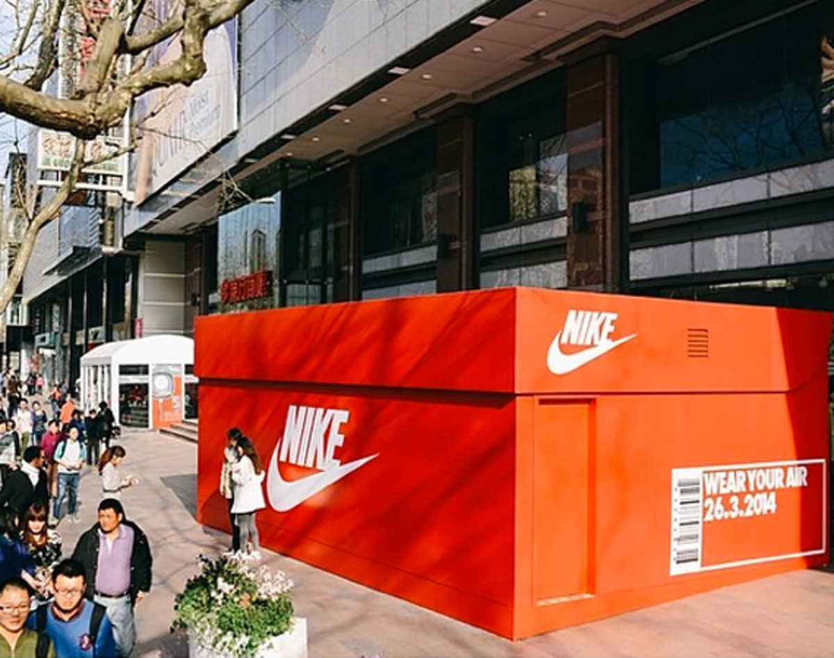 half off c98c8 1c898 Nike Gets Ready For Air Max Day Shanghai with Giant Shoebox ...