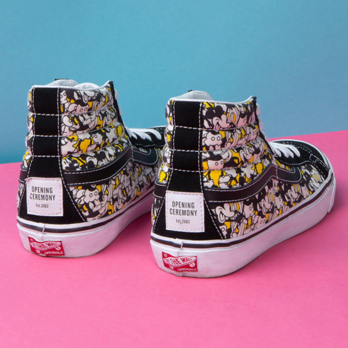 Disney X Opening Ceremony X Vans Mickey Mouse Footwear