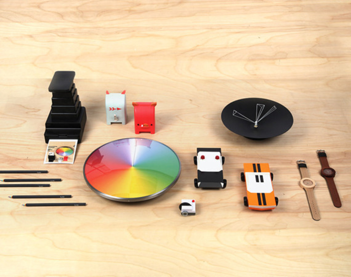 Kickstarter x moma design store special collection for Moma design collection