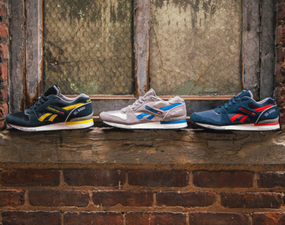 cbb3a2d6a570c The first Reebok GL 6000 first hit the stage back in 1985 as a cutting-edge  performance runner that didn t also look too bad on your foot after your ...