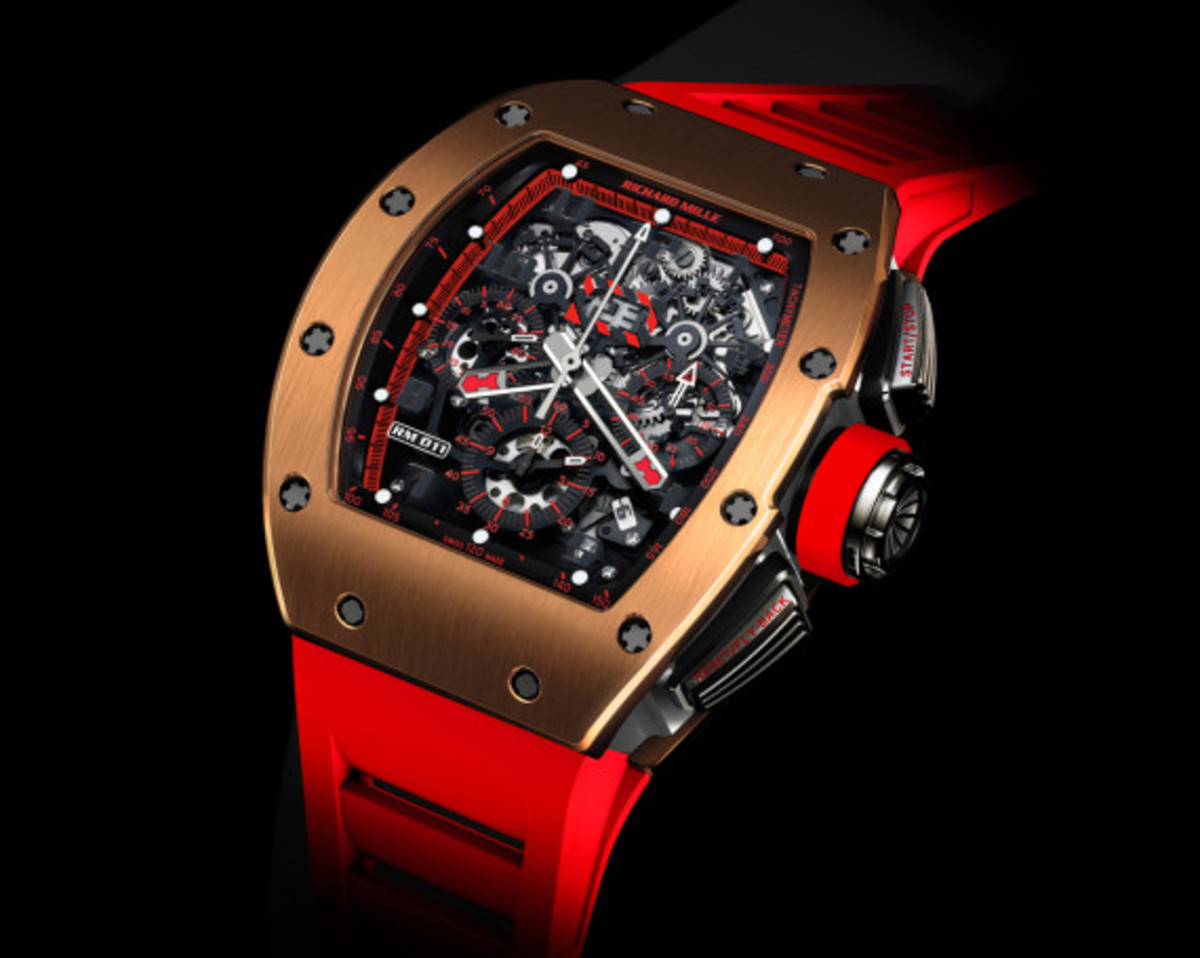 richard mille rm 011 red demon