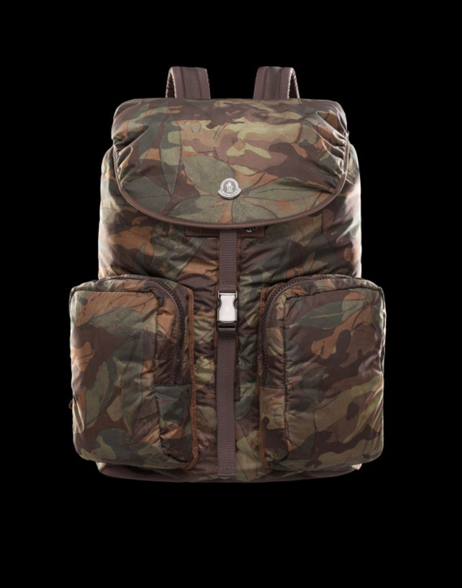 moncler camo backpack