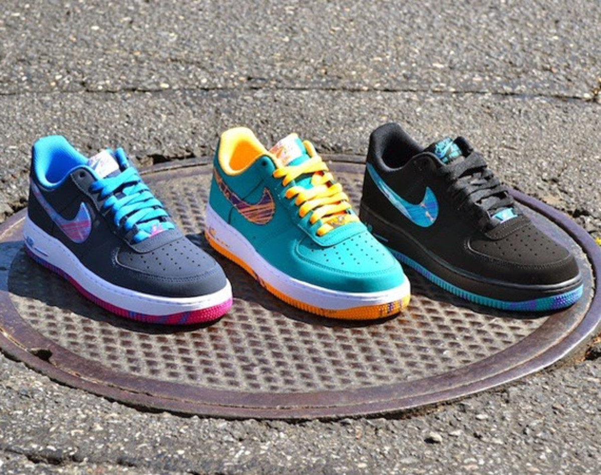 """Nike Air Force 1 Low - """"Marbled Swoosh"""" Pack"""