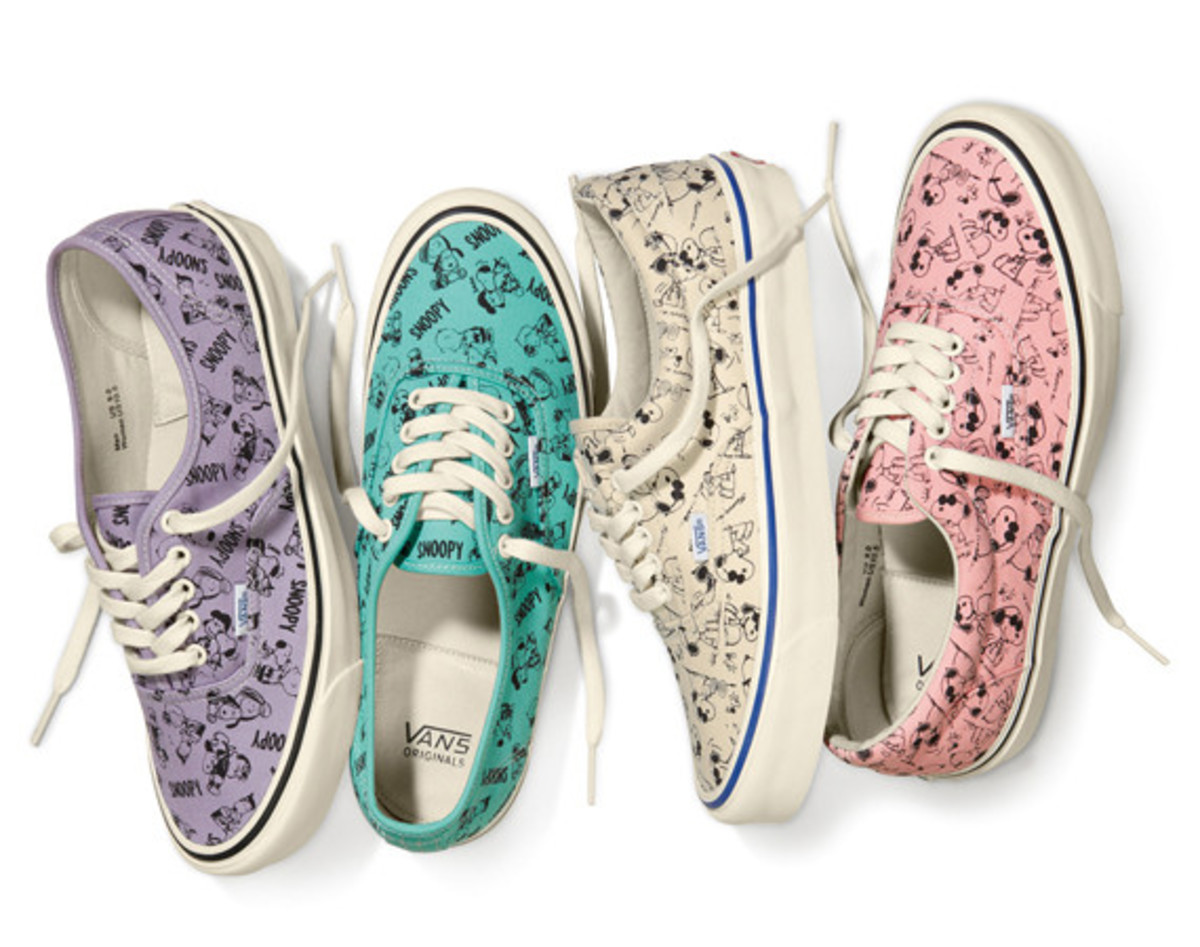 80317fb6b7 Peanuts x Vault by Vans - Fall 2014 Collection - Freshness Mag