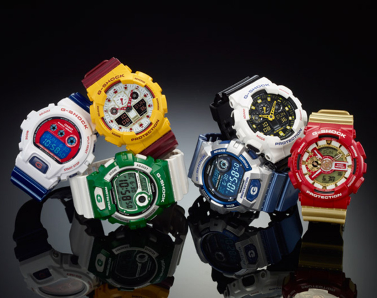 57294d7d1933e Casio has compiled a handful of key G-Shock models to create the latest  Crazy Colors pack. In line with their previous packs