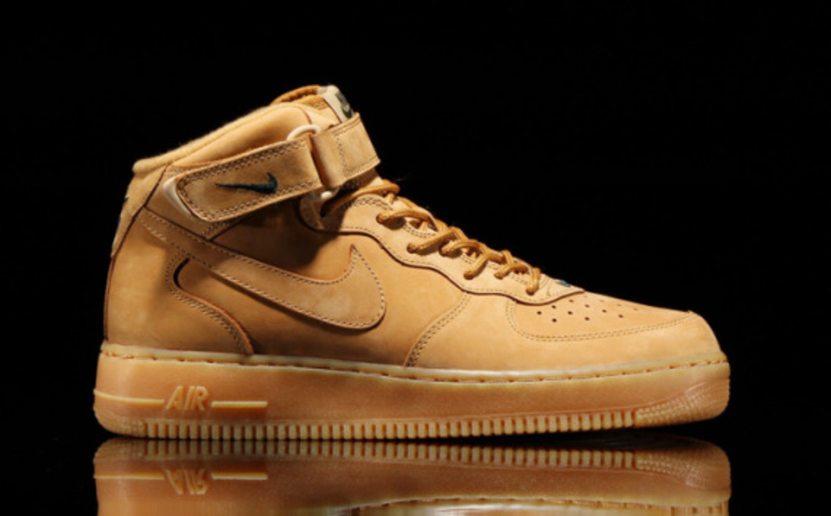 Nike Air Force 1 Mid Quot Wheat Quot Freshness Mag