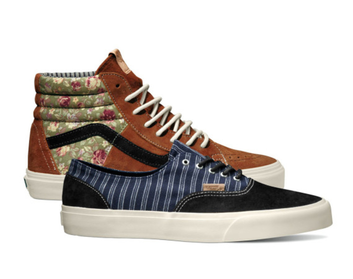 a0425faa0037 Two classic patterns will be finding their ways to the new VANS California  Collection for Holiday 2014. In reference to floral patterns of  yesteryears