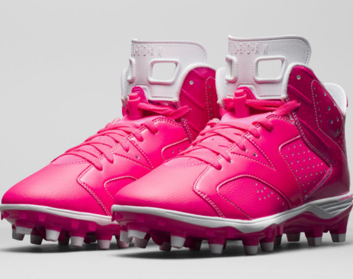 dc198fc17c62 ... the NFL is honoring Breast Cancer Awareness Month with players donning  the cause s signature pink colorway across their uniforms and on-the-field  gear.