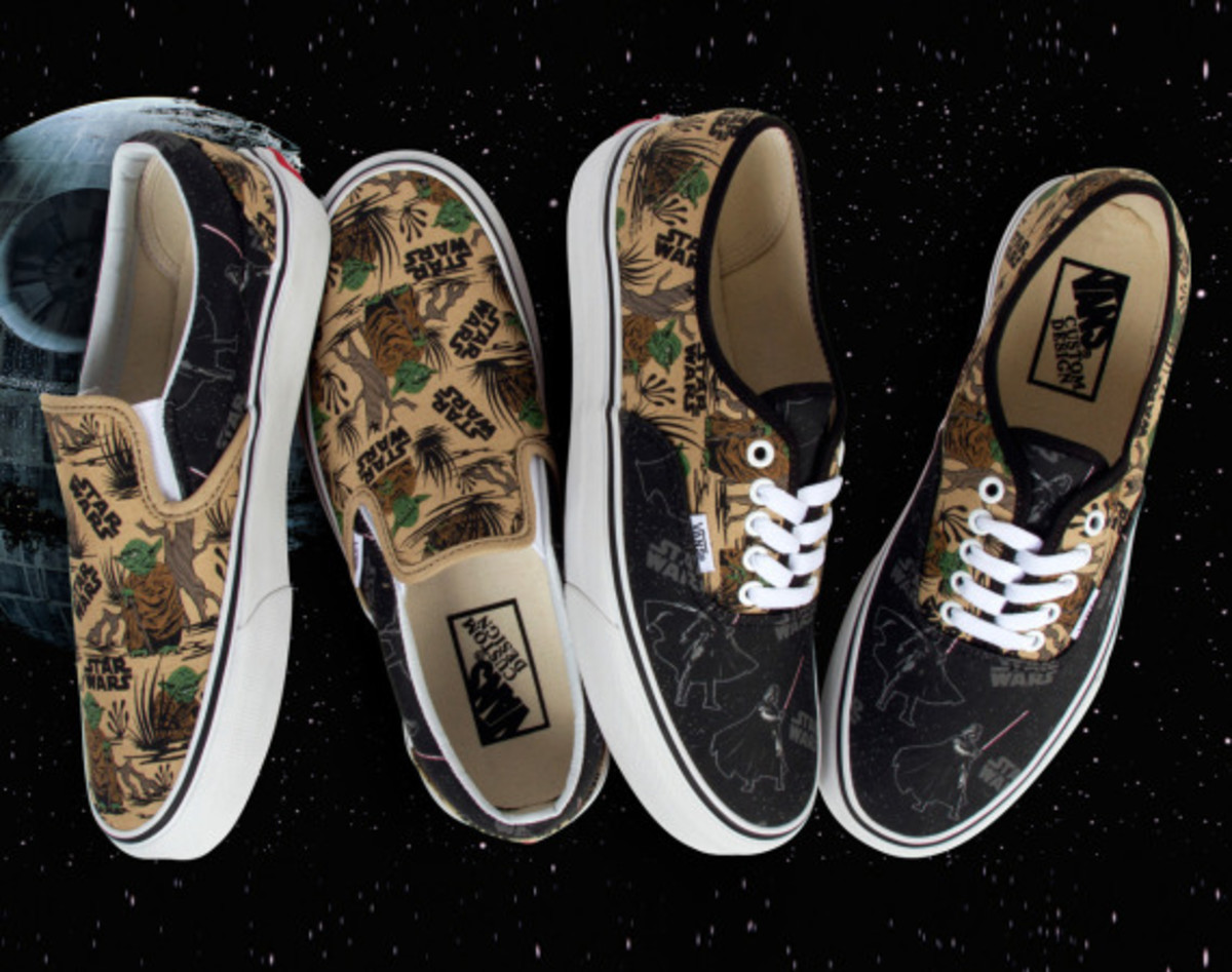 93da3caec0 The galactic battle between good and evil continues this month with the  launch of Star Wars x VANS Customs. After numerous inquiries by fans of  both Star ...