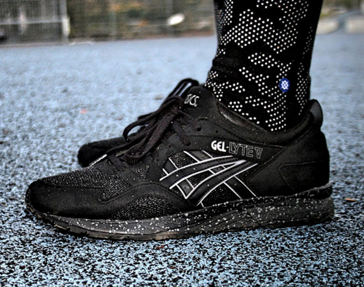 asics gel lyte v black speckle freshness mag. Black Bedroom Furniture Sets. Home Design Ideas
