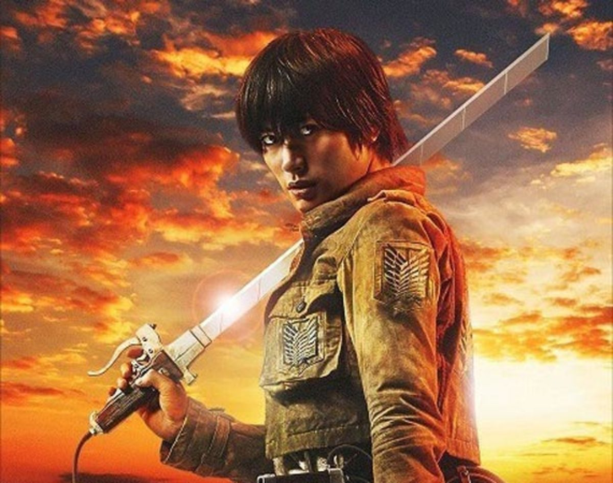 Attack on Titan Live-Action Movie Posters - Freshness Mag