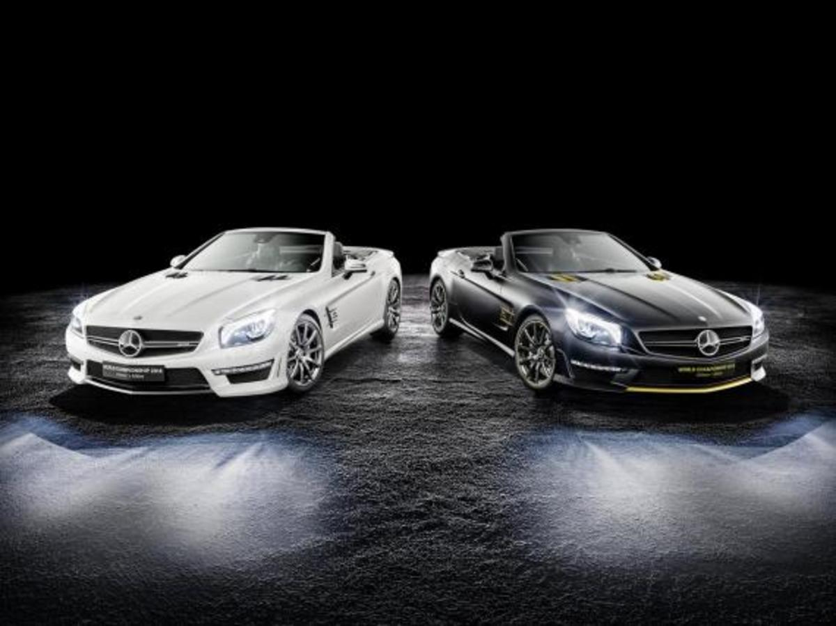 Mercedes-Benz SL 63 AMG - World Championship 2014 Collector's Edition