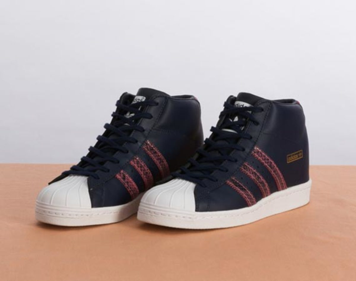 Adidas SUPERSTAR UP 2STRAP SNEAKER Navy