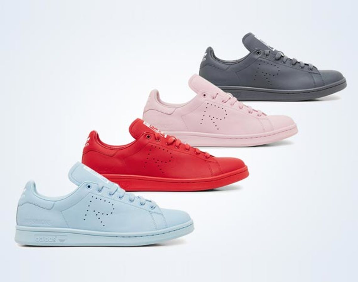 Raf Simons x adidas Originals Stan Smith - Spring 2015 Collection | Release Date