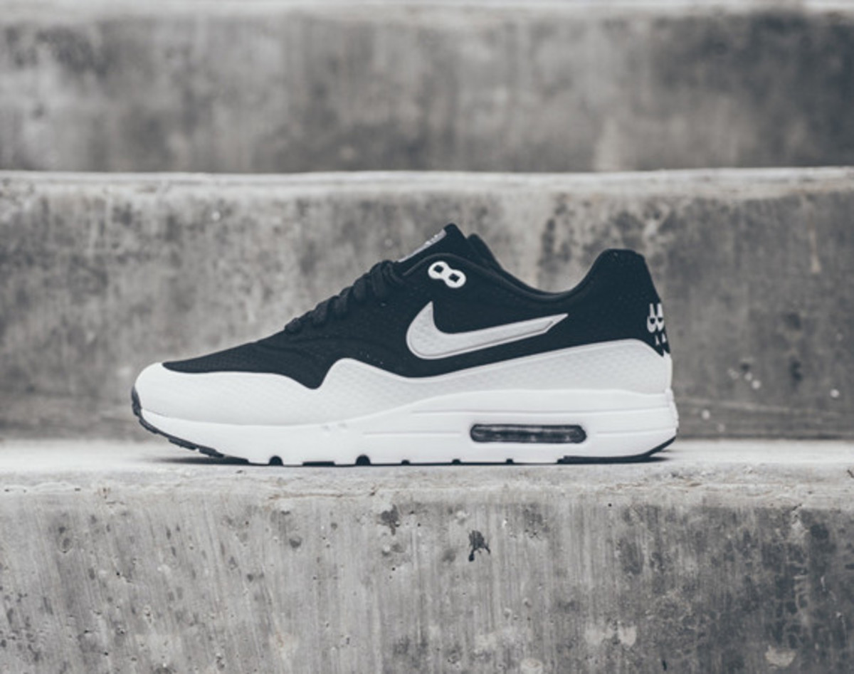 Nike Air Max 1 Ultra Moire - Black/White - Freshness Mag