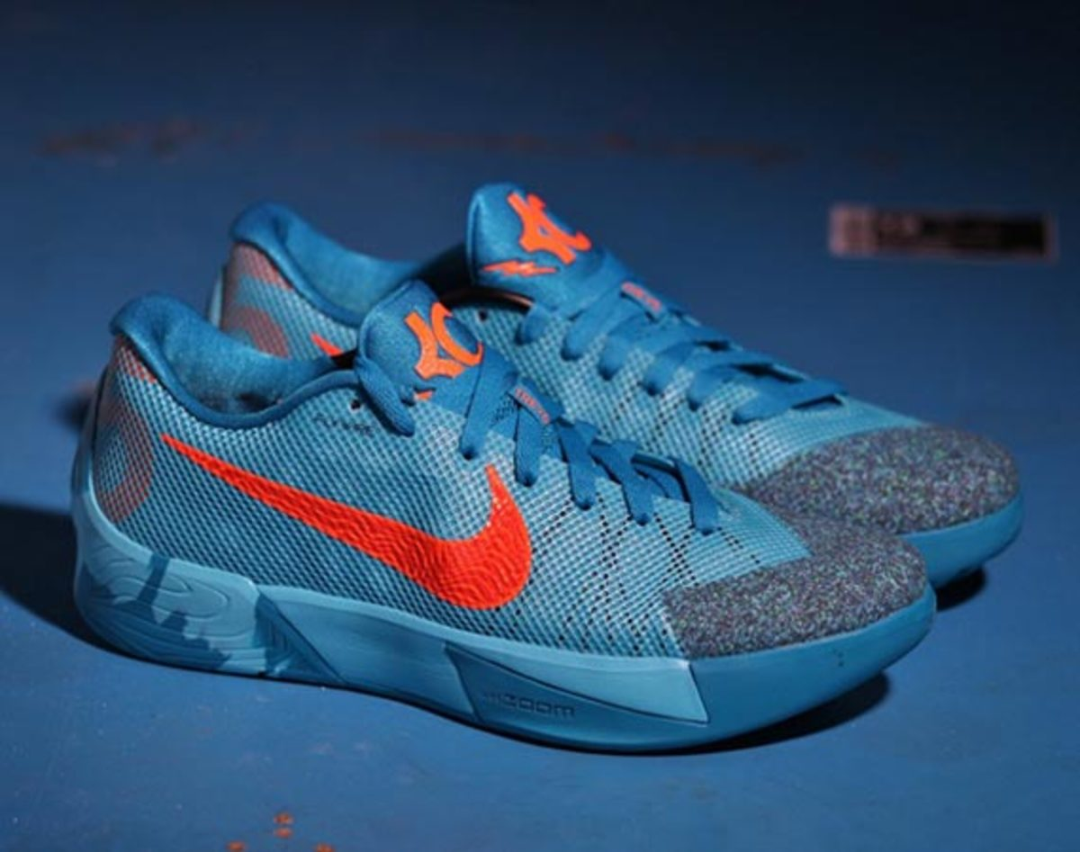 2cba55ee9554 Nike has released a bold new colorway of the KD Trey 5 II as part of their  Fall Winter 2014 line