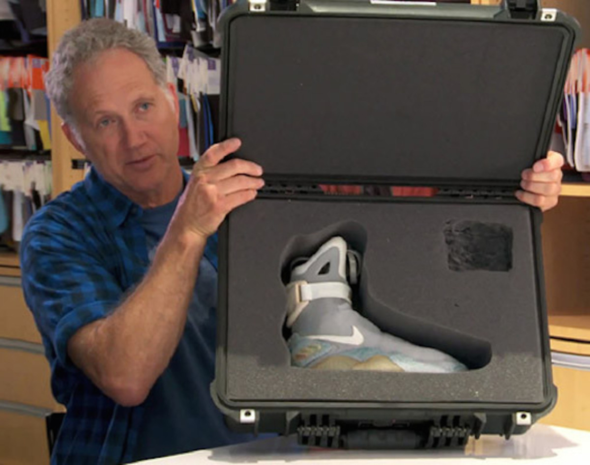 Tinker Hatfield Talks Nike Air Mag 2015 Release With Power