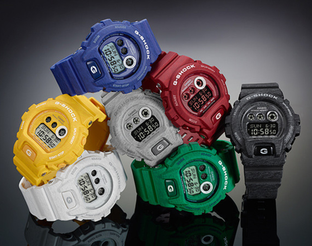 daa753535ce04 Casio G-Shock Heathered Color Series - Freshness Mag
